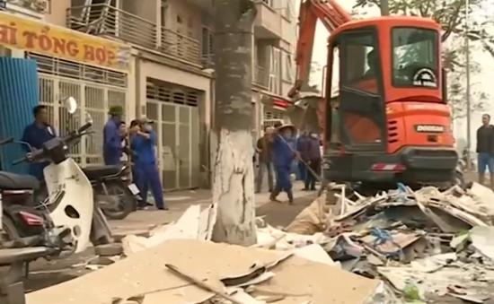 Nỗ lực khắc phục hậu quả vụ nổ tại KĐT Văn Phú, Hà Đông