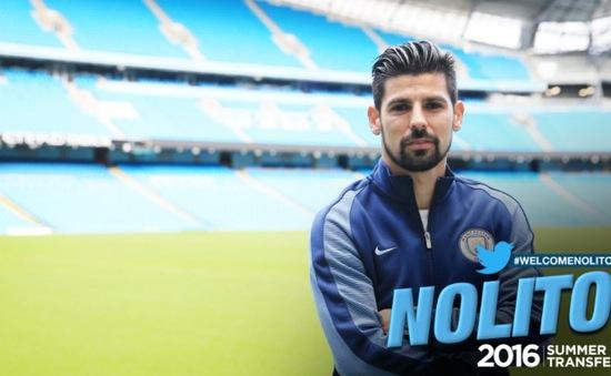 Man City chính thức sở hữu Nolito