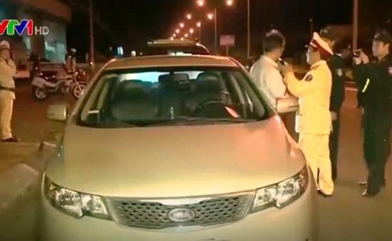 Cảnh báo tai nạn giao thông sau những cuộc nhậu đêm