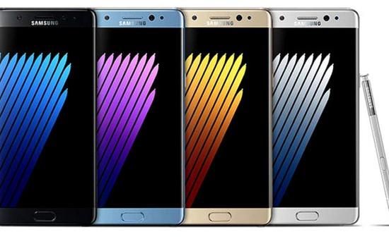 Galaxy Note 7 màu nào được yêu thích nhất?
