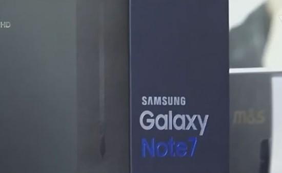 Samsung ngừng bán điện thoại Note 7 trên toàn cầu