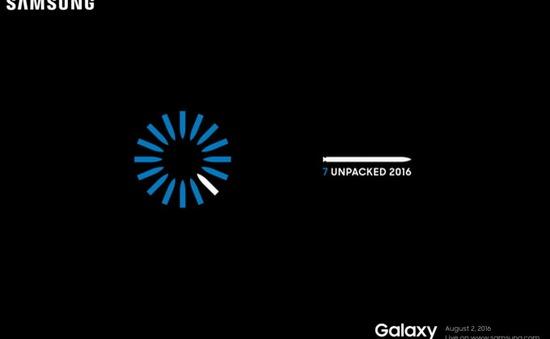Galaxy Note 7 chính thức ra mắt vào ngày 2/8