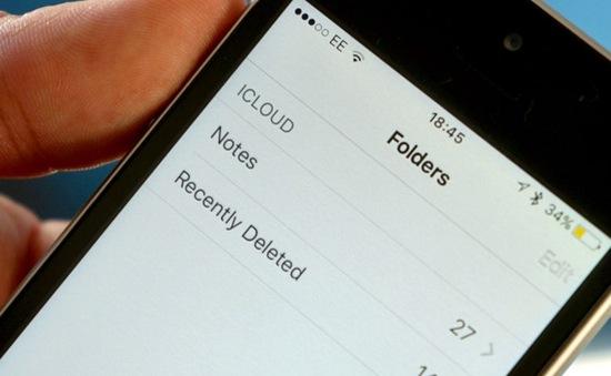 """""""Cứu cánh"""" khi bạn lỡ tay xóa ghi chú quan trọng trên iPhone"""