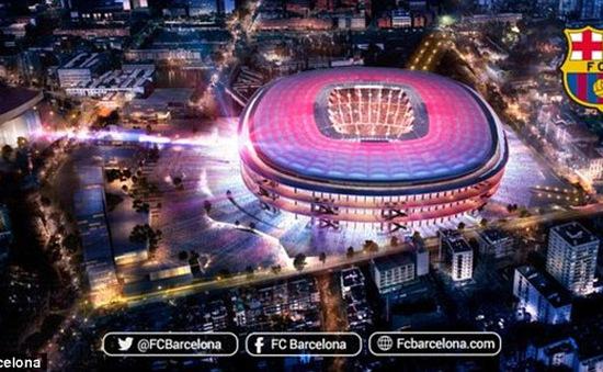 """Nou Camp sắp thành """"siêu sân vận động"""" với 105 nghìn chỗ"""