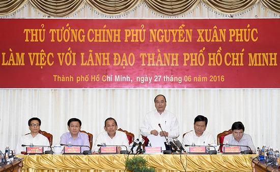 Thủ tướng đồng ý tạo cơ chế thí điểm để TP.HCM phát huy thế mạnh