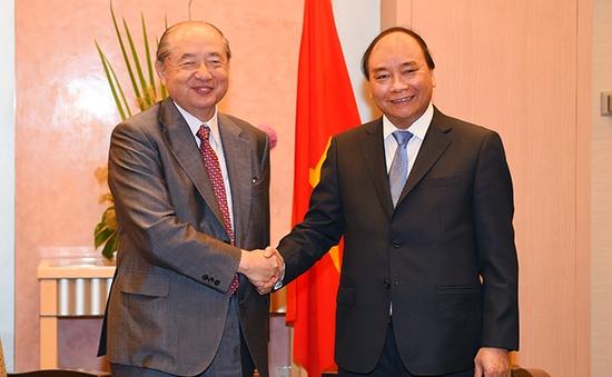 Thủ tướng tiếp Chủ tịch Tập đoàn Mitsubishi