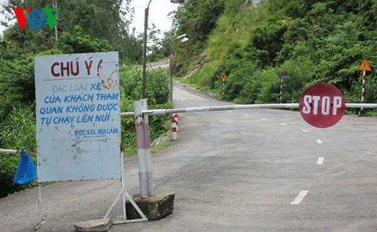 An Giang tạm đóng cửa đường lên núi Cấm