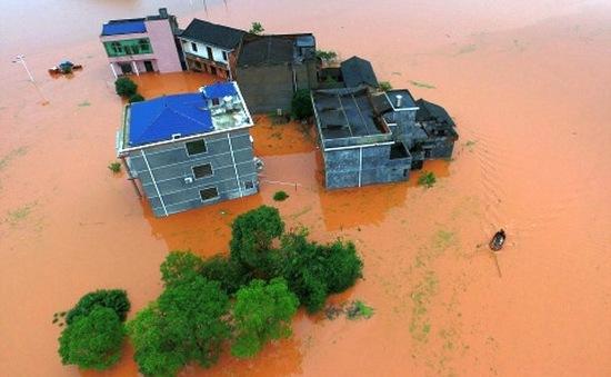 Lũ lụt tại Trung Quốc, 15 người thiệt mạng, 8 người mất tích