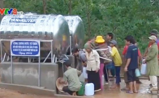 Kon Tum: Xây dựng công trình nước tự chảy cho vùng hạn