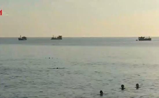 Nhận diện dòng nước xoáy nguy hiểm trên biển