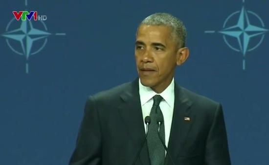 Tổng thống Mỹ rút ngắn chuyến công du châu Âu để đến Dallas