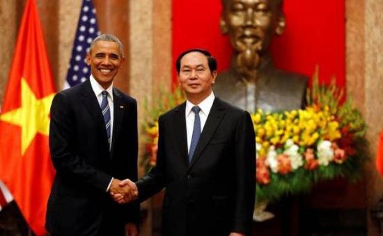 6 kết quả nổi bật trong chuyến thăm Việt Nam của Tổng thống Hoa Kỳ