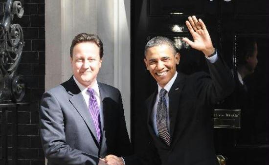 Tổng thống Mỹ đến thăm và kêu gọi Anh ở lại EU