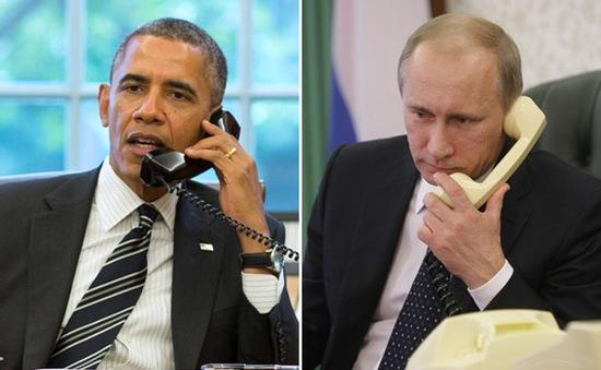 Tổng thống Mỹ, Nga điện đàm về tình hình thế giới