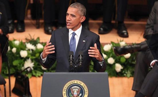 Tổng thống Obama: Vẫn tồn tại định kiến sắc tộc trong lòng nước Mỹ