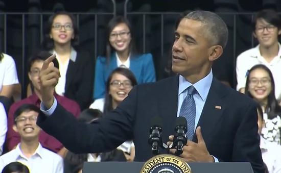 Sơn Tùng M-TP bất ngờ được nhắc đến trong bài phát biểu của Tổng thống Obama