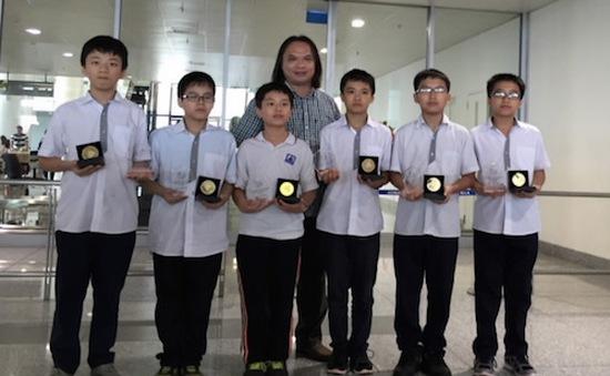 Việt Nam giành 6 HCV tại Olympic Toán châu Á - Thái Bình Dương