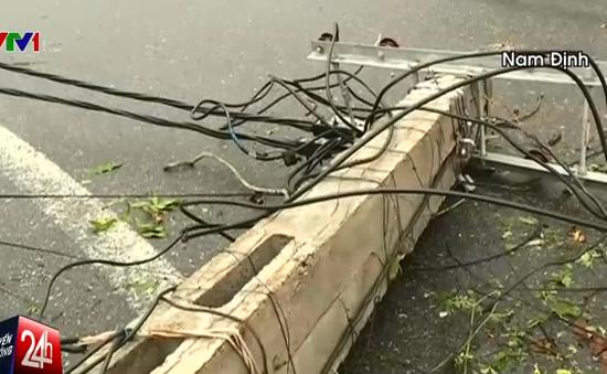 Mất điện diên rộng ở Nam Định: Chưa thể xác định thời điểm khôi phục