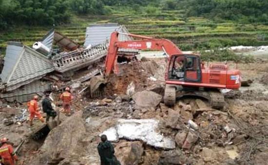 Lở đất nghiêm trọng tại Trung Quốc, 8 người thiệt mạng