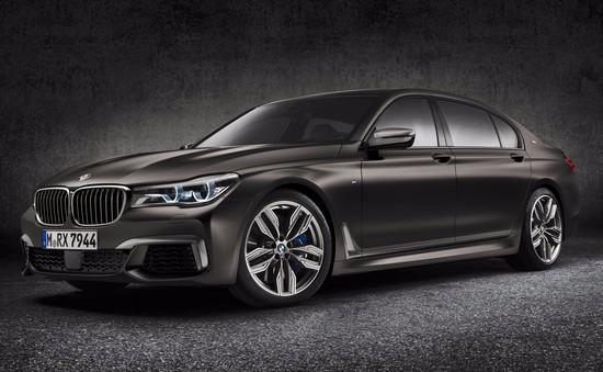 BMW ra mắt xe M760i xDrive công suất 600 mã lực