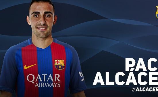 Chính thức: Barcelona chiêu mộ tiền đạo Paco Alcacer