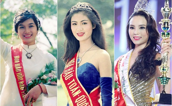 Vương miện Hoa hậu Việt Nam thay đổi thế nào qua các thời kỳ?