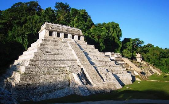 Phát hiện đường hầm nước dưới mộ vua Pakal tại Mexico