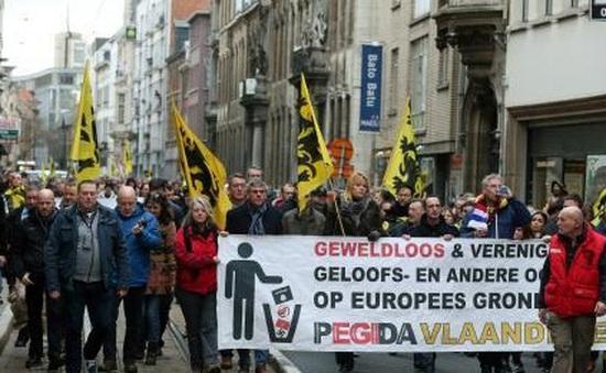 Phong trào cực hữu Pegida biểu tình tại 14 nước châu Âu