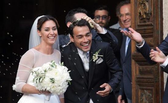 Flavia Pennetta rạng ngời trong đám cưới với Fabio Fognini