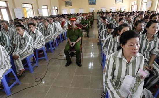 Gần 25.000 phạm nhân được giảm án dịp Quốc khánh