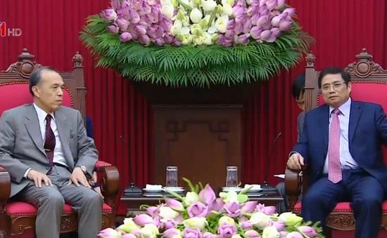 Đồng chí Phạm Minh Chính tiếp Ủy viên trưởng Cơ quan Nhân sự Quốc gia Nhật Bản