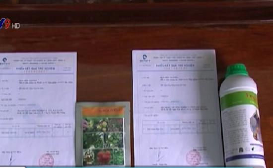 Phát hiện 2 loại thuốc BVTV kém chất lượng tại Hậu Giang