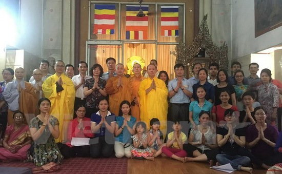 Cộng đồng người Việt tại Ấn Độ mừng đại lễ Phật Đản 2016