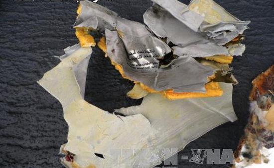 Ai Cập phát hiện dấu vết chất nổ trong vụ rơi máy bay MS804