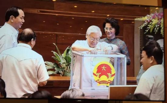 Quốc hội bỏ phiếu bầu Chủ tịch Quốc hội khóa XIV