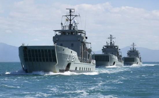 Philippines tuyên bố kết thúc tuần tra cùng Mỹ trên biển Đông