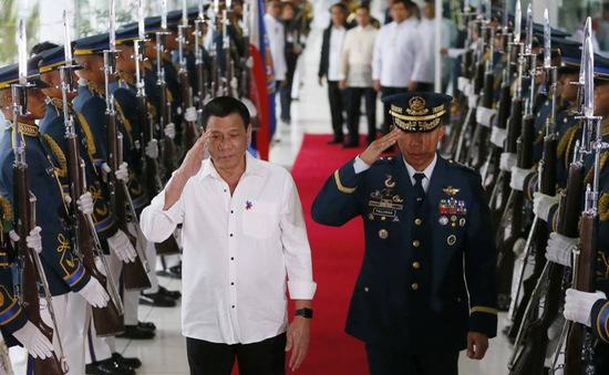 Tổng thống Duterte yêu cầu hủy bỏ hợp tác quốc phòng Mỹ - Philippines
