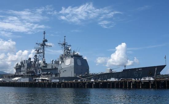 Philippines tuyên bố ngừng tuần tra chung trên biển với Mỹ