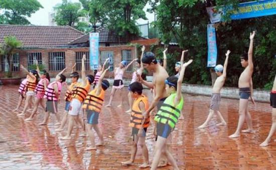 Rèn luyện kỹ năng phòng chống đuối nước cho trẻ em TP.HCM