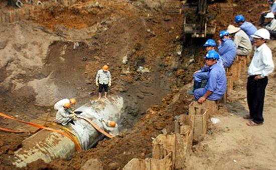 Đường ống nước sông Đà gặp sự cố lần thứ 20