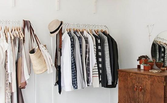 Cách một nhà thiết kế sắp xếp tủ quần áo trong căn phòng nhỏ
