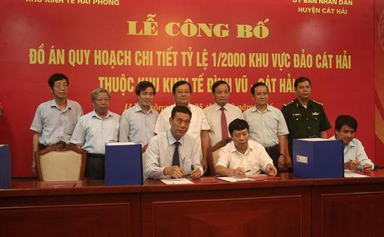 """Hải Phòng công bố quy hoạch 1/2000 xây dựng Cát Hải thành """"Đảo thông minh"""""""