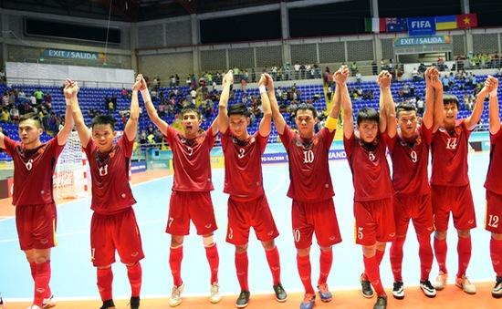 Lịch trực tiếp vòng 1/8 FIFA Futsal World Cup 2016: Việt Nam đụng độ Nga