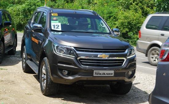 Chevrolet Trailblazer 2017 sắp về Việt Nam