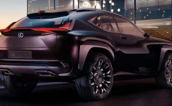 Lexus UX Concept hé lộ hình ảnh đầu tiên