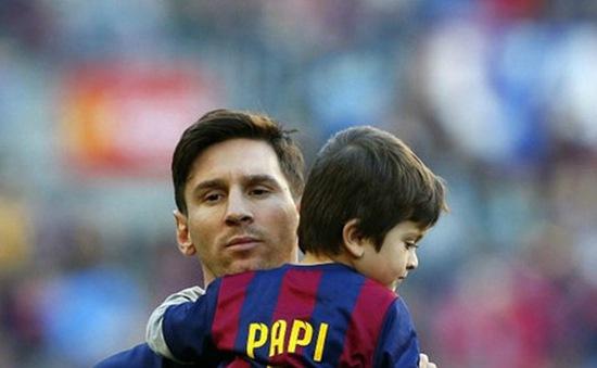 "Con trai Messi ""chê"" nghiệp cha"