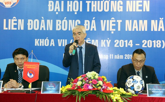 Chủ tịch VFF vui mừng với những kỳ tích của bóng đá Việt Nam năm 2016