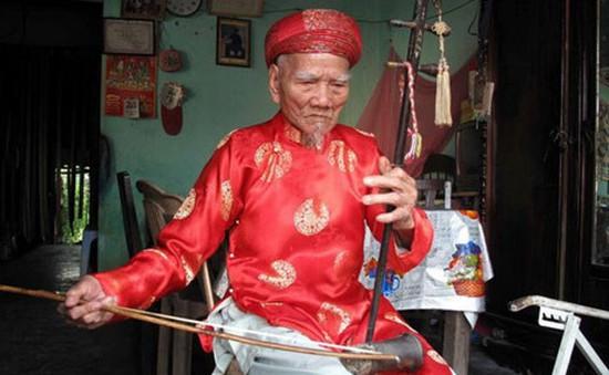 Nghệ nhân Nhã nhạc cuối cùng triều Nguyễn qua đời ở tuổi 106