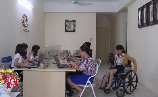 Nghị lực sống phi thường của nữ giám đốc khuyết tật cả hai chân