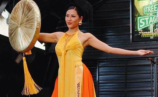 Áo tứ thân của Nguyễn Thị Loan lọt top 10 trang phục dân tộc đẹp nhất